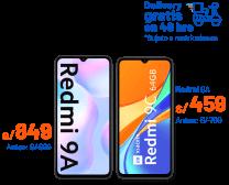 Redmi 9A - Redmi Note 9 - Redmi Note 10Pro