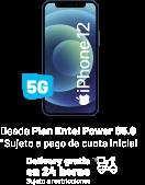 Llévate tu nuevo iPhone hasta en 24 meses DEsde Plan Entel Power 65.9 * Sujeto a pago de cuota inicial