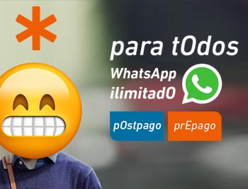 Promo WhastApp ilimitado