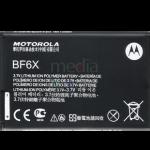Batería estándar BF6X Tipo Iron Rock