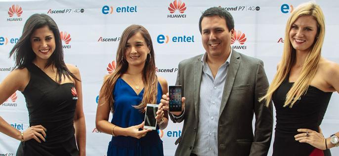 Huawei y Entel lanzan en el Perú el Ascend P7 4G LTE