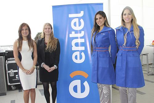 Lourdes Carlos, Jefe de Producto Terminales de Entel Perú y Florencia Álvarez, Gerente de Marca Own.