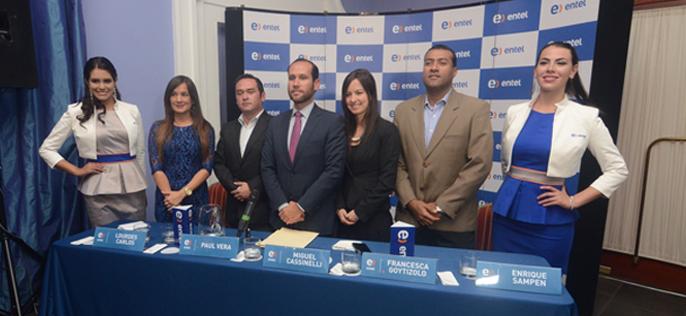 Entel lanza 4G en Arequipa