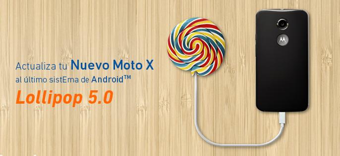 Motorola y Entel actualizarán el Nuevo Moto X a Android™ 5.0 Lollipop®