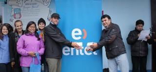 Entel y EnseñaPerú juntos por una educación de excelencia en Hualgayoc- Cajamarca