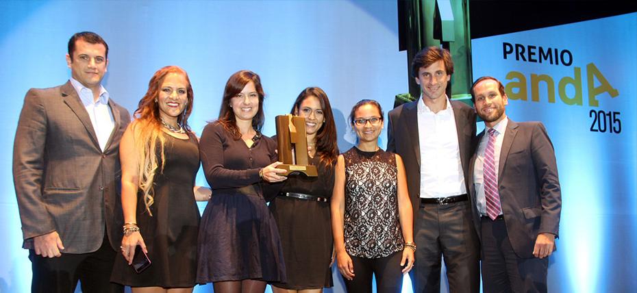 Entel ganó el Premio Anda a la Excelencia