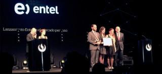 Creatividad Empresarial premia a Entel por su lanzamiento en el mercado peruano