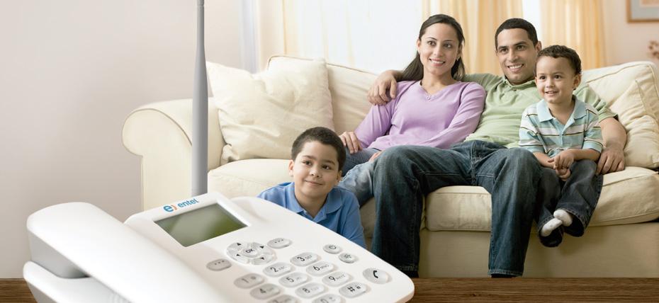 entel lanza telefona fija inalmbrica para el hogar