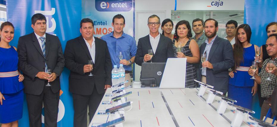 Entel llega a Iquitos con servicios 4G