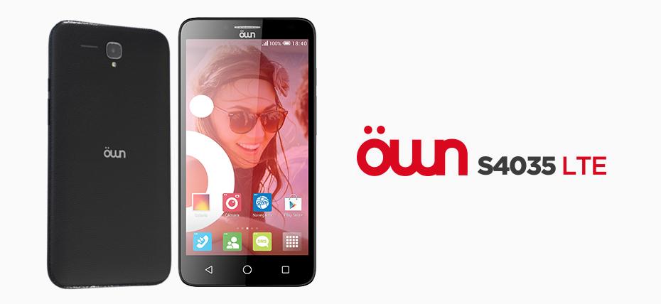 Entel lanza en Perú en exclusiva el nuevo Öwn S4035 4G