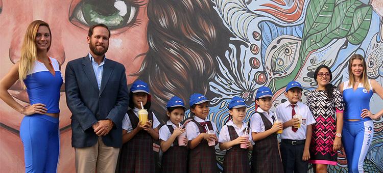 Alianza con la Fundación Niños de Arco iris