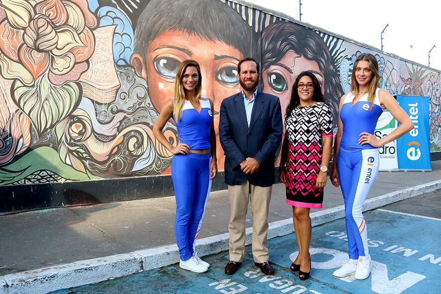 Alianza Con La Fundacion Ninos De Arco Iris Entel Peru