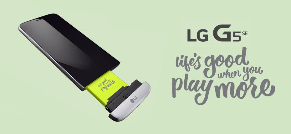 LG G5 SE estará disponible en el Perú con Entel