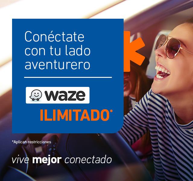 Llega con Waze a cualquier sitio