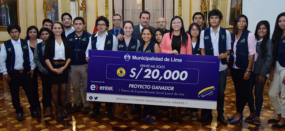 Lanzan concurso de proyectos sociales con 20 mil soles de premio