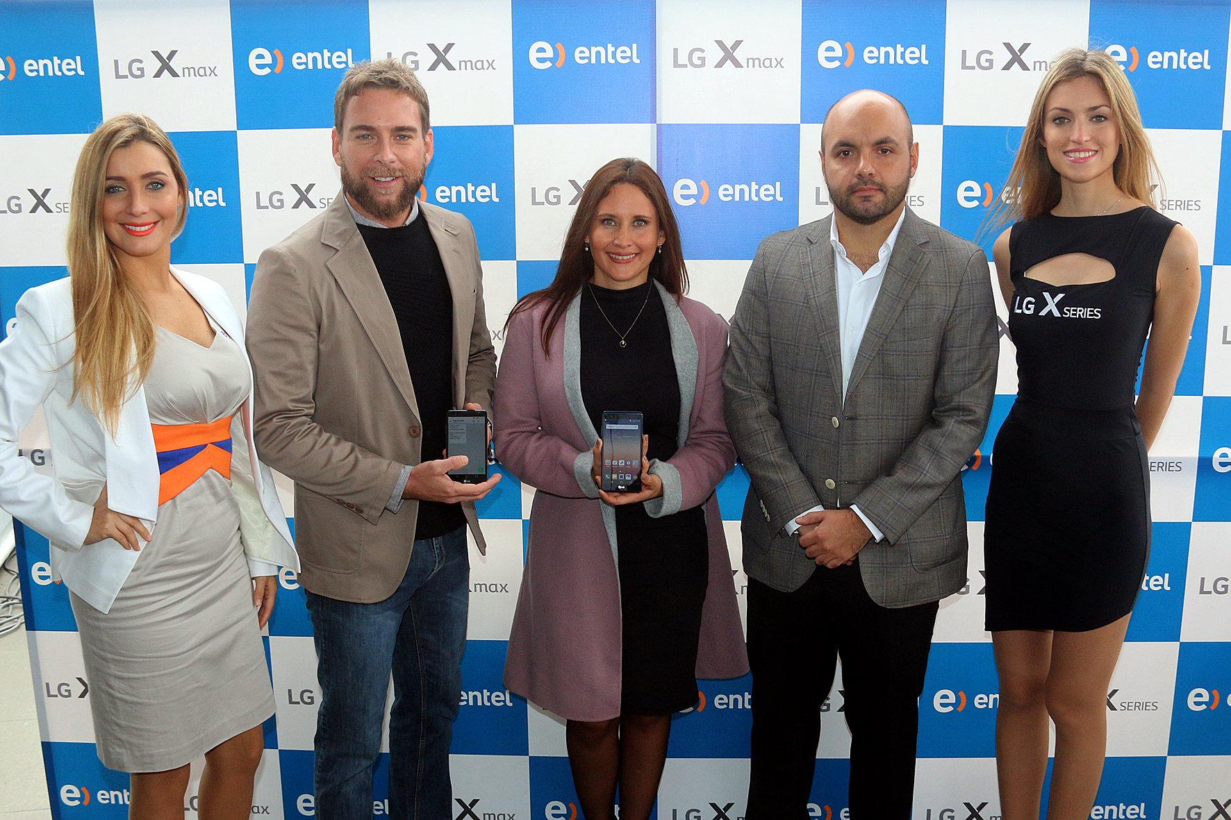 Entel y LG presentan la  X Max: Smartphone de la serie X con características únicas para necesidades distintas