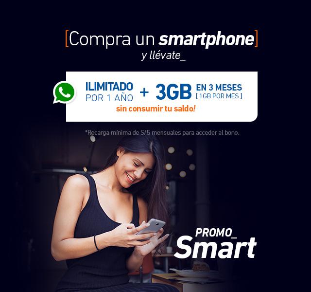 Un smartphone es mucho más si es Prepago Entel