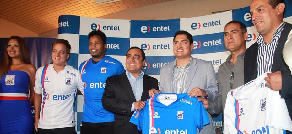 Entel es el nuevo auspiciador del club deportivo C.A. Manucci