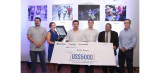 Entrega de premios del concurso de fotografía organizado por Entel