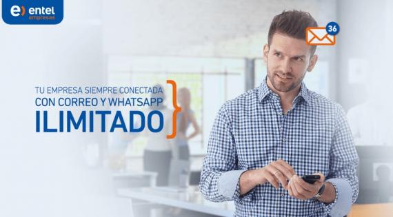 Correo y WhatsApp ILIMITADO para tu negocio