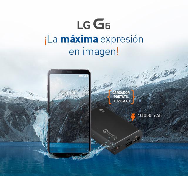 El mundo en tus manos LG G6