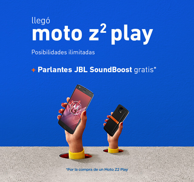 Promo Moto Z2 Play