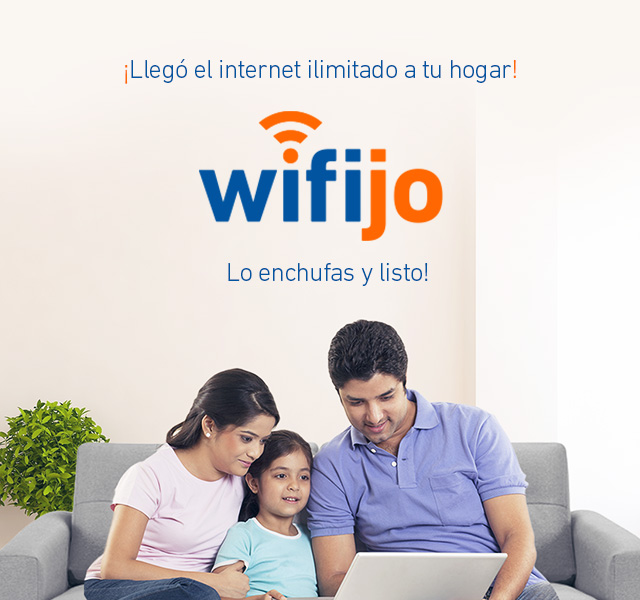 ¡El wifi llega a tu casa!