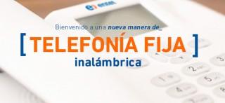Telefonía fija inalámbrica de Entel ya se encuentra en Perú