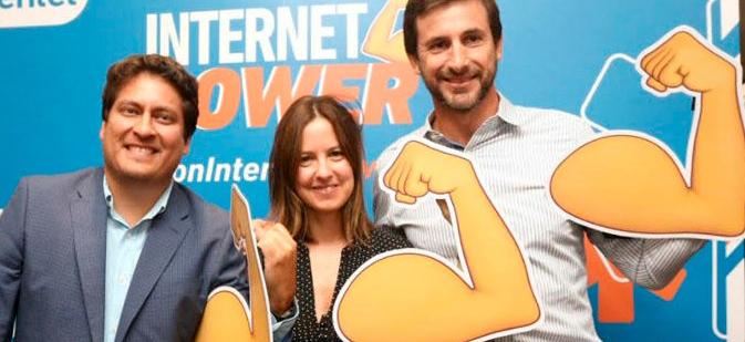 """Entel anuncia """"Internet Power"""": plataforma para conectar mejor a todos sus usuarios"""