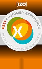 IZO Best Customer Experience Iberoamerica