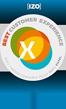 IZO Best Customer Experience Perú