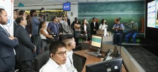 Entel inaugura programa de visita a su centro operaciones de red