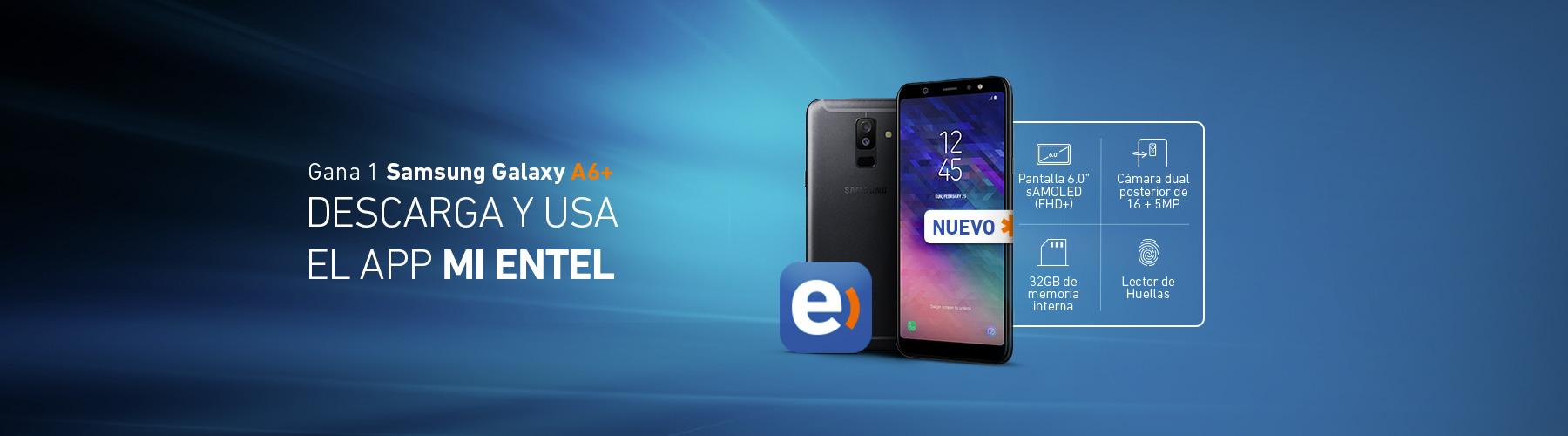 Llévate un Samsung-Galaxy A6