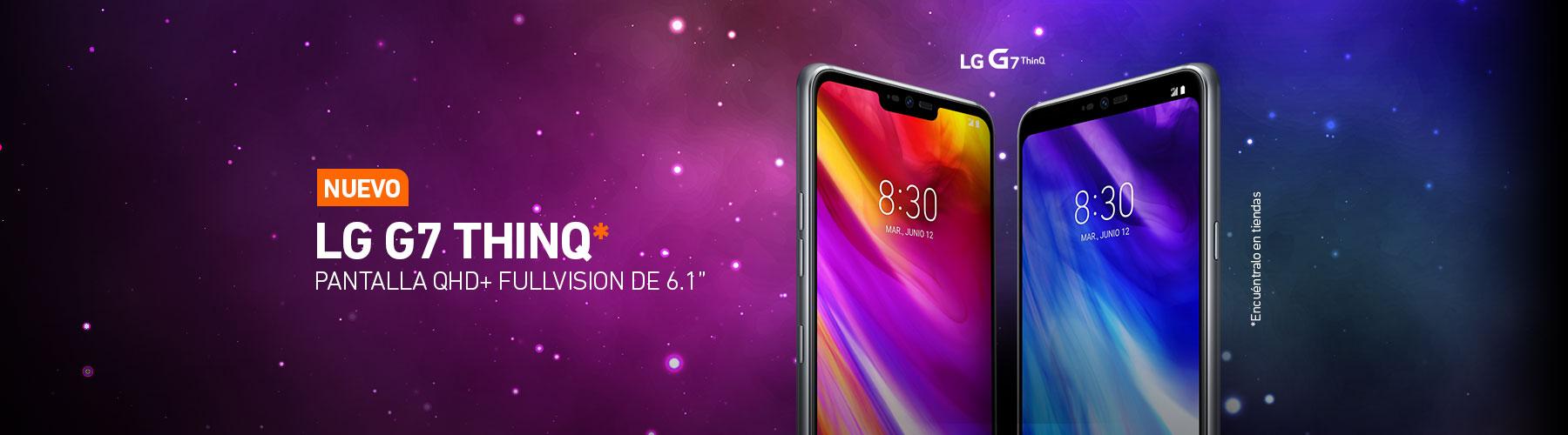 Nuevo LG G7 ThinQ*