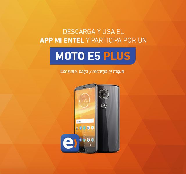 Llévate un Moto E5 Plus