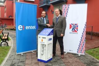Británico y Entel unidos por el reciclaje electrónico