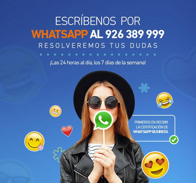 Atención al cliente whatsapp