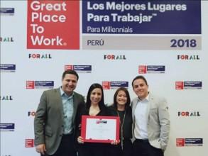 Entel es la única operadora entre las mejores empresas para los millennials