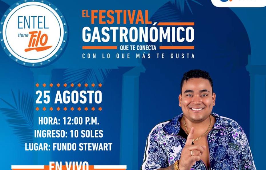 """Por segunda vez Entel lleva a Piura el festival gastronómico """"Entel Tiene Filo"""""""