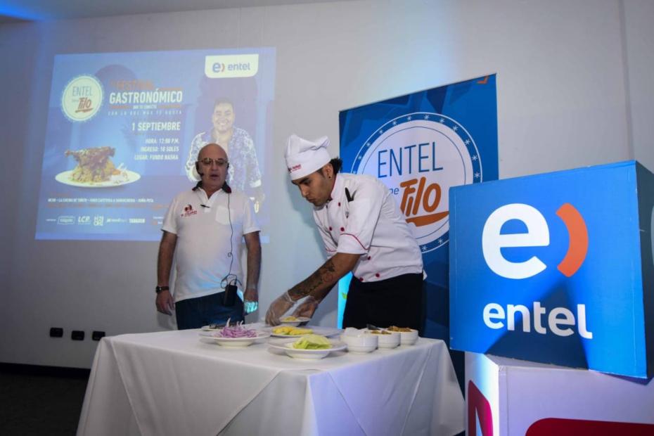 """Entel llevó por primera vez a Trujillo el festival gastronómico """"Entel Tiene Filo"""""""