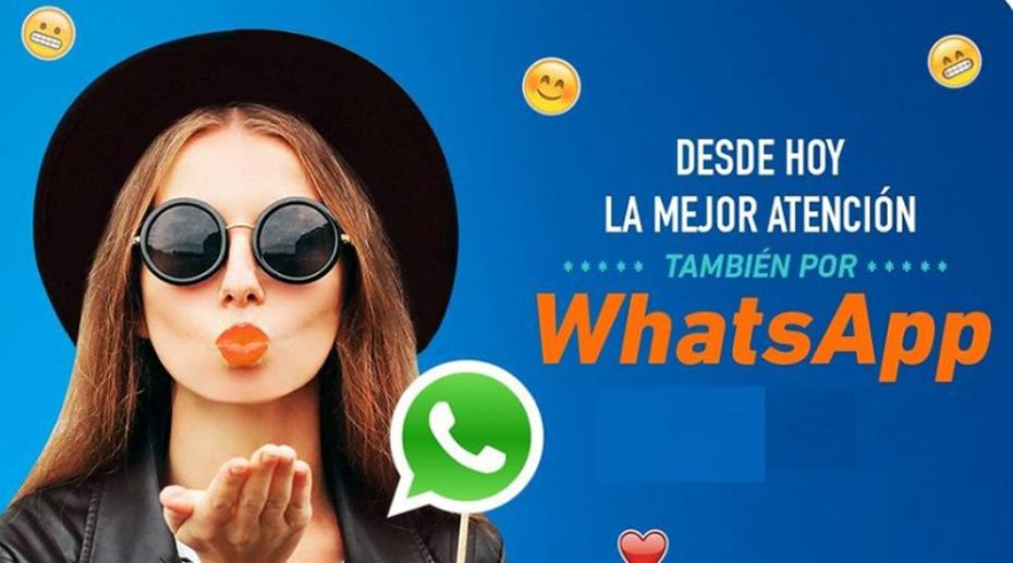 Entel ahora atenderá a sus clientes por WhatsApp Business