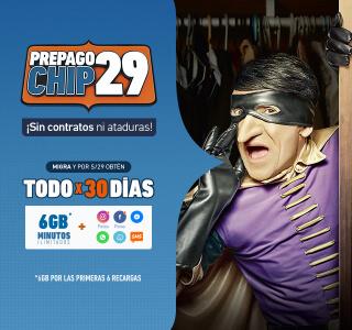 Prepago chip 29