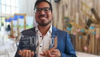 Periodista de El Comercio es reconocido por reportaje que promueve la sostenibilidad