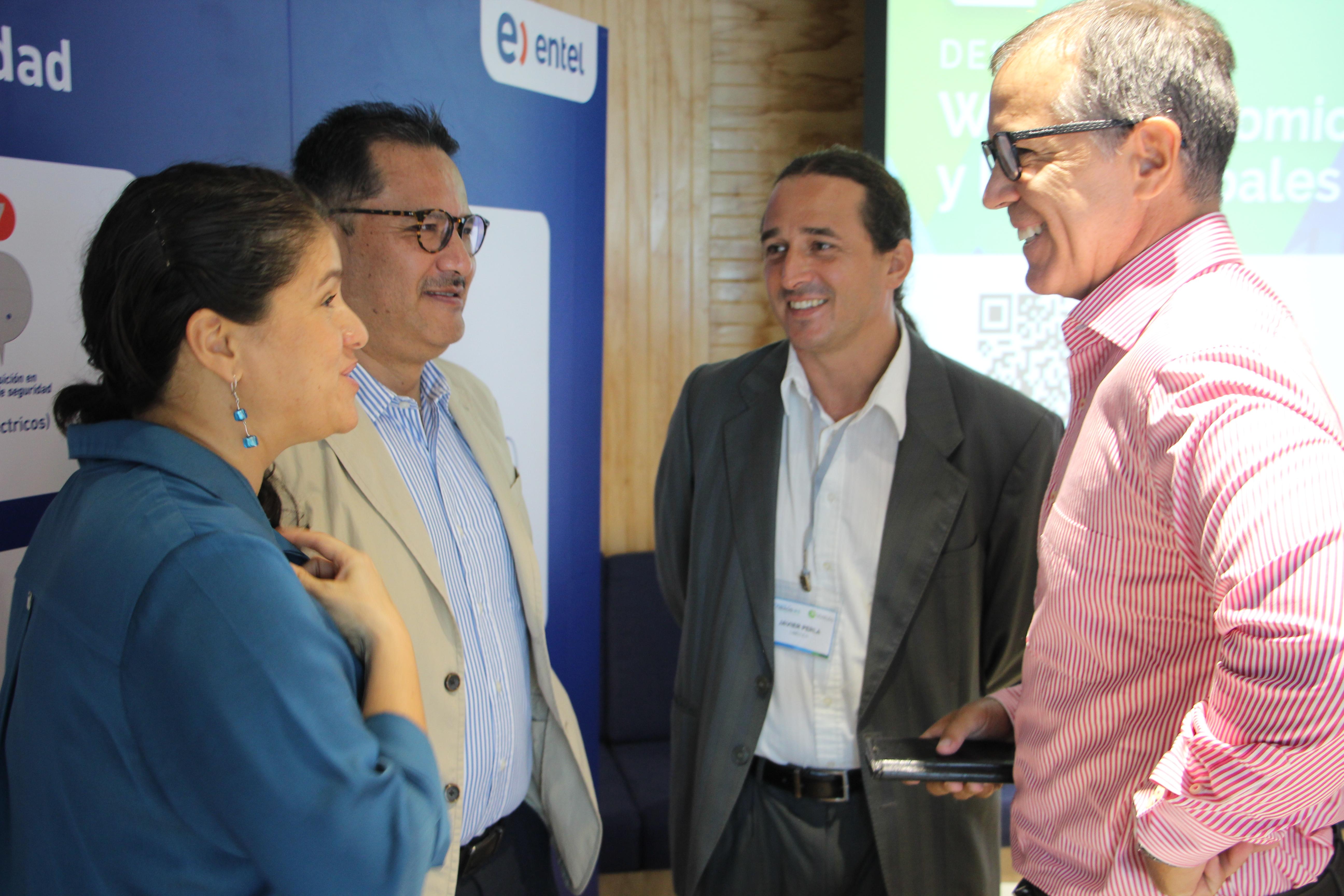 Empresarios comprometidos con el cambio  climático se reunieron en Entel