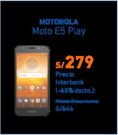 Moto e5