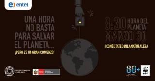 Hora del Planeta: Entel se suma a las actividades de la Municipalidad de Lima