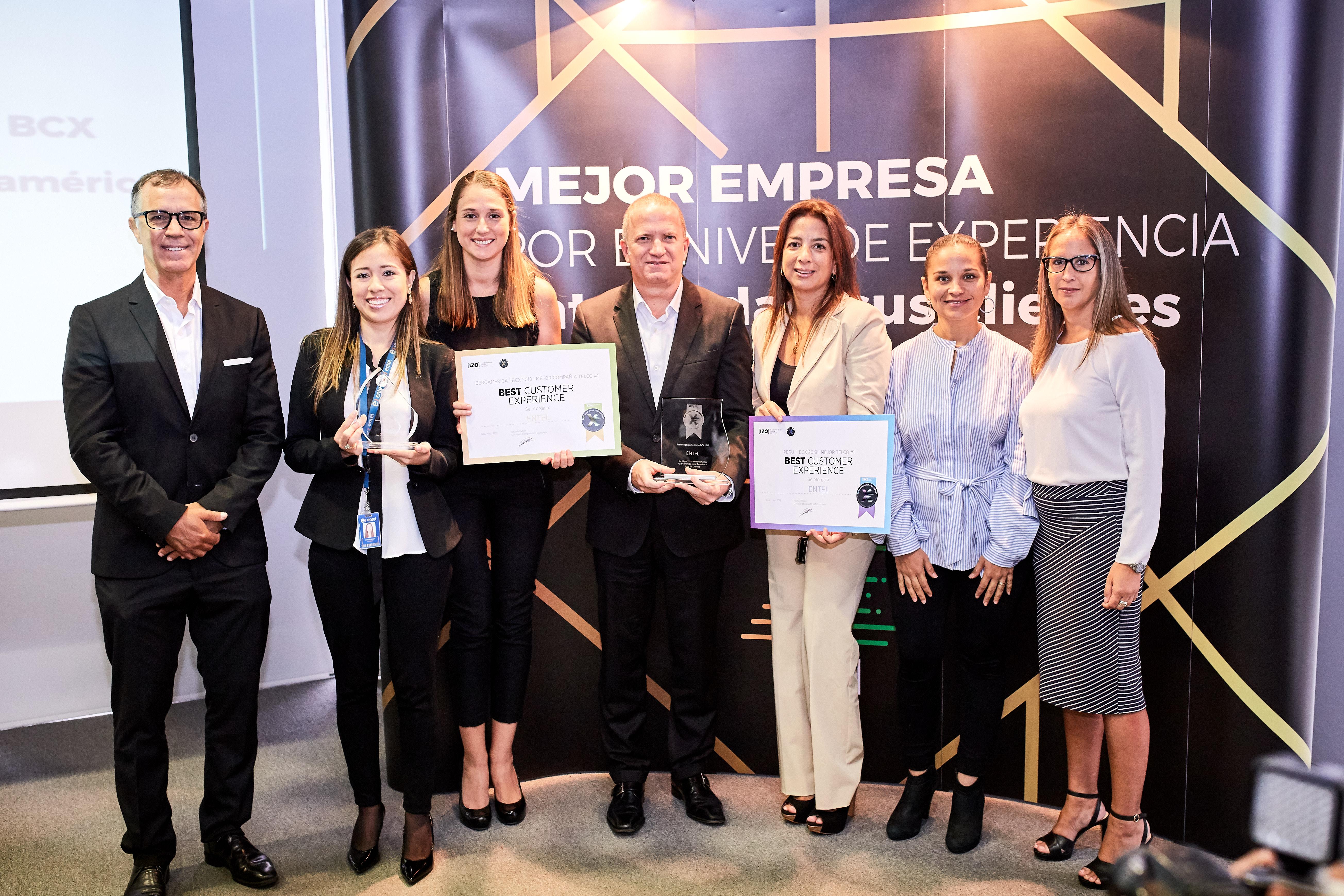 Entel es reconocida por ofrecer la mejor Experiencia de Cliente en Perú e Iberoamérica en el 2018