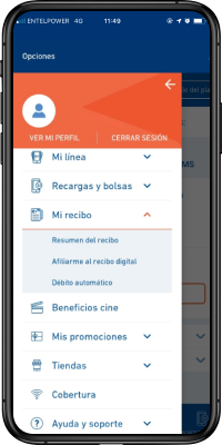 Descarga app Mi Entel