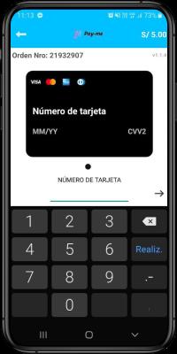 Ingresa los datos fr tu tarjeta de débito o crédito