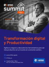 Empresarios se reunieron en el Entel Empresas Summit que brindó herramientas claves para agilizar los negocios